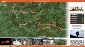 Capture du site L'Infernal Trail des Vosges 2017
