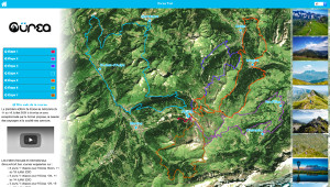 Capture du site Oürea Trail
