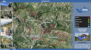 Capture du site Trail Drôme 2017